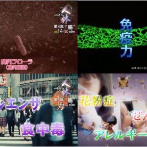NHKスペシャル『シリーズ人体』のキャプチャ画像