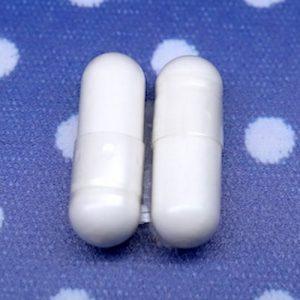 ファンケル『快腸サポート』のカプセル形状のアップ写真